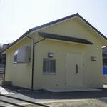 公共下水道 古屋敷内水排水処理施設整備工事(電気室建築工事)外部