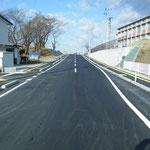 大町浜尾線道路改良舗装工事