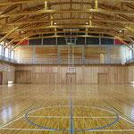 須賀川市立長沼東小学校屋内運動場建築主体工事(内部)