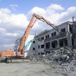 長沼中学校既存校舎解体工事