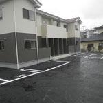 Kアパート駐車場舗装工事