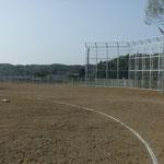 長沼中学校校舎改築屋外整備工事(バックネット等)