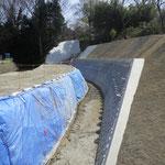 準用河川下の川 河川改修工事