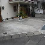 Nクリーニング店コンクリート舗装工事
