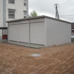 第三小学校倉庫設置工事