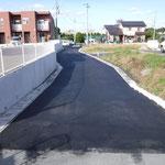 崩免地区法定外道路簡易舗装工事1