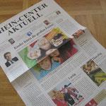 Kundenmagazin Rhein-Center Weiden | Auftraggeber: mds Creative GmbH | Projektbetreuung Art | Redakteur: Tobias Neuhaus