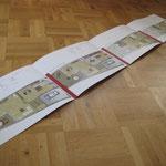 Grundrissfolder | Stadtvillen Braunsfeld | Auftraggeber: Immotional. | Kunde: Dornieden Generalbau