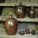 Flaschen und Schnapsstamper