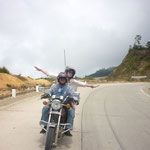 Flying while easy riding in Vietnam
