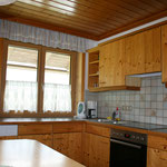 Küche Apartment Hornspitz © Christine Bleisch