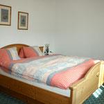 Schlafzimmer Apartment Hornspitz © Christine Bleisch