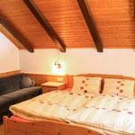 Schlafzimmer Apartment Hochsitz © Christine Bleisch