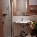 Bathroom Apartment Donnerkogel  © Christine Bleisch