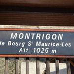 Le village de Montrigon