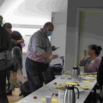 Kulturstadtrat Steuckardt (CDU) empfängt zu Baklava