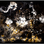 Matera, triptych, 2021, mixed media on wood, 180 x 122 cm