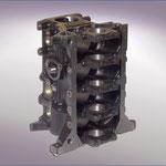 Cylinder block PERKINS - Material GG25 - Weight: 123 kg