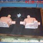 Steering box -3  Material Nodular Iron GGG 60  -  Weight 28kg - Customer Italy