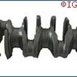 Crankshaft - Part-No MB 307-11-301  -  Material FCD65 KES-B-DOO2- Weight 12 kg