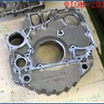 Flywheel Housing - Material GH190 - Weight 44kg - Customer Italy