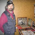 Jean-Paul sammelt Taxi- und Jazzpins