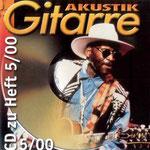 Cover der Heft CD von Akustik Gitarre 05/2000 enthält Little Steps