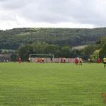 Der Platz vom DGH aus (Ligaspiel gg. RSV 05)