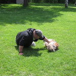 Unser Hundeflüsterer - mein Onkel!