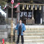 節分祭 神社境内と年番