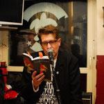 Autorenlesung Tortuga Bar Hamburg, 21.12.13