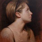 """Pilar de perfil"" - Óleo/Lienzo | 42 x 33 cm | 2007"