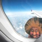 Rencontre surprenante à 30.000 pieds au-dessus de Mirepoix !
