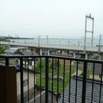 バルコニーより琵琶湖を望む パート1