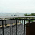 バルコニーより琵琶湖を望む パート2