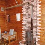 暖炉 普通の暖炉でもこのようにリフォーム可能です。