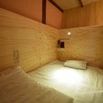 2段ベッドの寝室