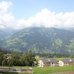 Haus mit Blick ins Rheintal