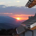 Sonnenaufgang Richtung Chur