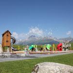 Der Spielplatz im Rufalli Park, ca. 10min entfernt