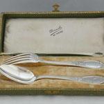 Antikes 950/ 1000 Silber Dessert-Besteck Set