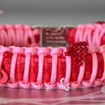 KingLuy Paracord Halsband Happy Valentine