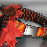 KingLuy Paracord Halsband Halloween