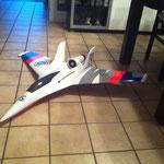 Modellflieger-Beschriftung
