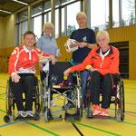 erfolgreiches Ende der Tour mit Marianne und Jörg Buggenhagen, Steffen Pohlmann und Christel-Ursel Rafael