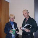 Steffen Pohlmann und Autorin Christel-Ursel Rafael