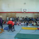 Begrüßung in der Landgraf-Ludwig-Schule