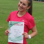 3 miejsce w biegu na 100m - Kaja Sołek - 13,4 sek