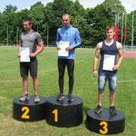 Podium skoku w dal - miejsce 3 - Arkadiusz Wojciuch - 5,81m