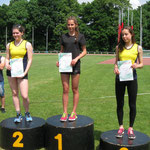 Podium 400m - 1 miejsce - Ilona Porębska - 63,3 sek